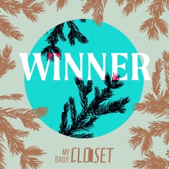 Giveaway Winner Announcement Instagram Graphic